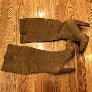 KORS Michael Kors Shoes - Michael Kors Tan Suede Boots